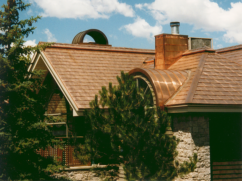 Natural Metal Roofing